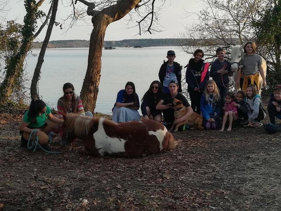 Une semaine de vacances avec les poneys