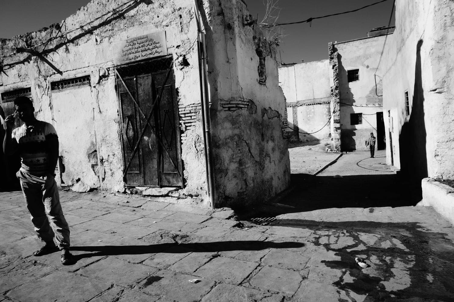 Fez, wolrd's children, street photography, black and white, art, people, colors